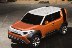纽约车展的概念可能会预览丰田的新小型跨界车