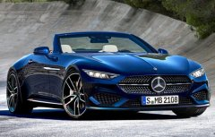 新一代奔驰SL假想图曝光 更优雅更运动