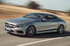 全新奔驰S级Coupe配备弯道侧倾系统