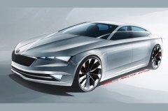 斯柯达VisionC概念车将亮相日内瓦车展