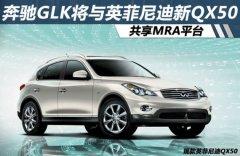 奔驰GLK将与英菲尼迪新QX50 共享MRA平台