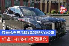 红旗E-HS9申报图曝光 采用双电机布局/续航里程超600公里