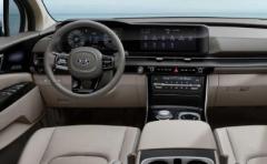 新起亚嘉华新车采用了全新的内饰设计语言