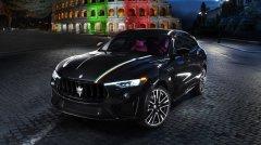 新增意大利国旗三色涂装 玛莎拉蒂Levante特别版车型7月问世
