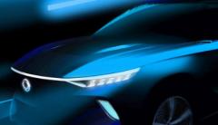 双龙汽车已经发布了C级电动SUV概念车e-SIV的预告片图像