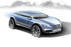 全新奥迪跨界概念车将亮相北美车展