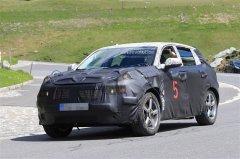 吉利全新SUV海外测试谍照 溜背式设计