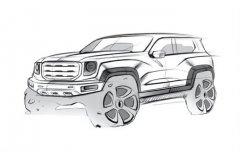 走硬朗路线 哈弗全新SUV设计图曝光