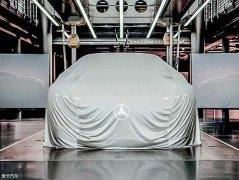 奔驰EQ系列S级预告图 法兰克福车展发布