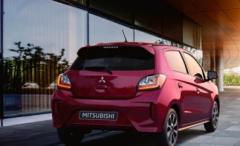 三菱汽车发布了其Mirage supermini的更新版本