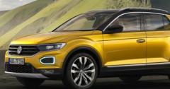 大众汽车现已发布了T-Roc紧凑型SUV
