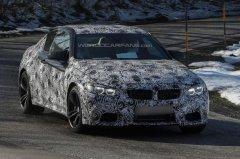 宝马M4 Coupe最新谍照曝光 明年底上市