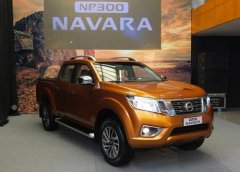 日产即将发布一款基于全球NP300 Navara皮卡车坚固基础的新型中型SUV