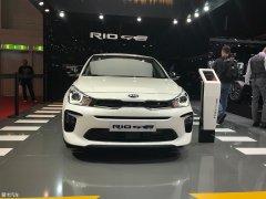 2018日内瓦车展:起亚Rio GT-Line发布
