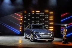 奥迪e-tron Sportback全球首发,电气化战略加速推进