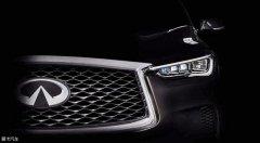 新英菲尼迪QX50预告图 洛杉矶车展首发